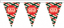 January Sale Style 5 Superior Bunting 10m (32') Long With 24 Flags
